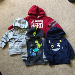Lot of 4 18-24m sweatshirts